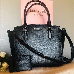 🕴 Kate Spade satchel and wallet bag set